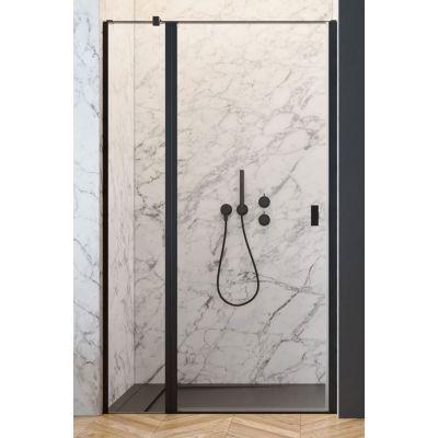 Radaway Nes Black DWJ II drzwi prysznicowe 80 cm lewe czarny/szkło przezroczyste 10036080-54-01L