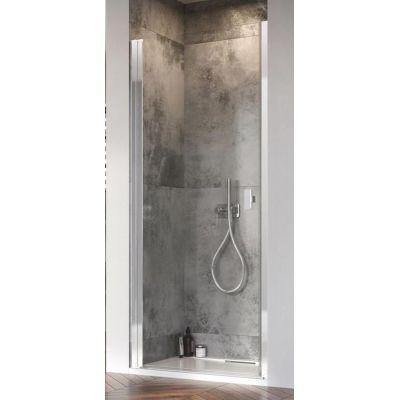 Radaway Nes 8 DWJ I drzwi prysznicowe 100 cm wnękowe lewe szkło przezroczyste 10076100-01-01L