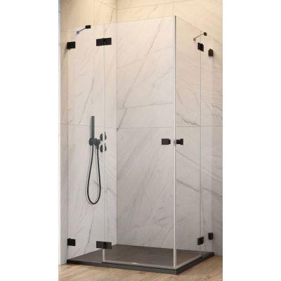Radaway Essenza Pro Black KDD drzwi prysznicowe 100 cm lewe szkło przezroczyste 10096100-54-01L