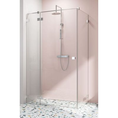 Radaway Essenza Pro KDJ ścianka prysznicowa 110 cm boczna szkło przezroczyste 10098110-01-01