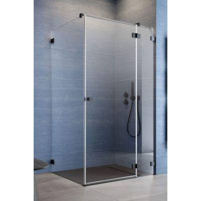 Radaway Essenza Pro Black KDJ drzwi prysznicowe 110 cm prawe czarny/szkło przezroczyste 10097110-54-01R