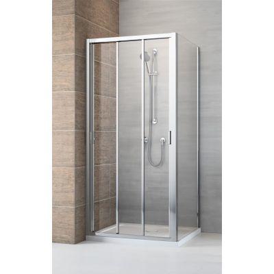Radaway Evo DW+S drzwi prysznicowe 80 cm szkło przezroczyste 335080-01-01