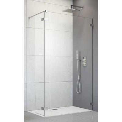 Radaway Arta Walk-In ścianka prysznicowa 40 cm boczna prawa szkło przezroczyste 386010-03-01R