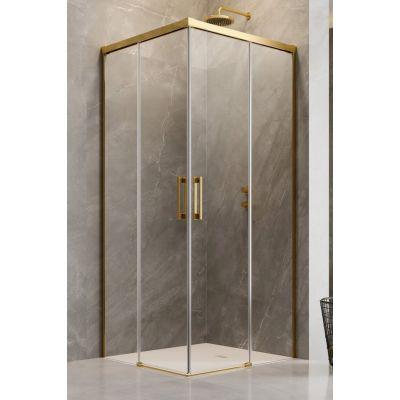 Radaway Idea Gold KDD drzwi prysznicowe 80 cm lewe szkło przezroczyste 387061-09-01L