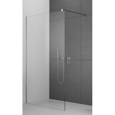 Radaway Modo X II Walk-In ścianka prysznicowa 90 cm wolnostojąca chrom/szkło przezroczyste 389294-01-01
