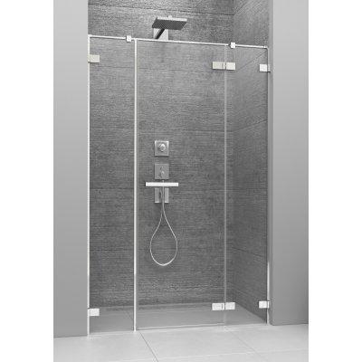 Radaway Arta DWJS drzwi prysznicowe 140 cm ze ściankami stałymi prawe 386456-03-01R/386122-03-01R