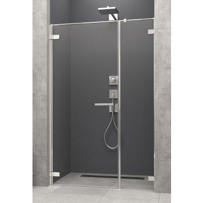 Radaway Arta DWS drzwi prysznicowe 130 cm ze ścianką stałą lewe 386828-03-01L/386092-03-01L