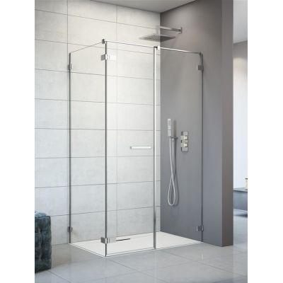 Radaway Arta KDS II drzwi prysznicowe 120 cm ze ścianką stałą prawe szkło przezroczyste 386521-03-01L/386106-03-01