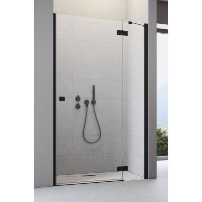 Radaway Essenza New Black DWJ drzwi prysznicowe 90 cm prawe szkło przezroczyste 385013-54-01R