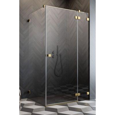 Radaway Essenza Pro Gold KDJ drzwi prysznicowe 120 cm prawe złoty/szkło przezroczyste 10097120-09-01R