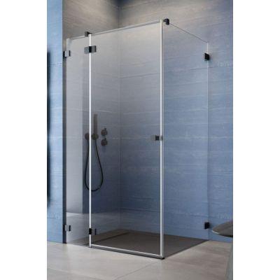 Radaway Essenza Pro Black KDJ drzwi prysznicowe 90 cm lewe czarny/szkło przezroczyste 10097090-54-01L