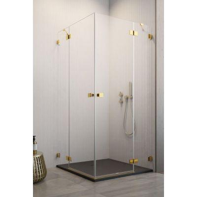 Radaway Essenza Pro Gold KDD kabina prysznicowa 80 cm prawa złoty/szkło przezroczyste 10096080-09-01R