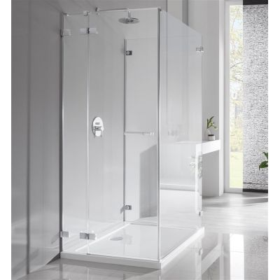 Radaway Euphoria KDJ P drzwi prysznicowe 90 cm lewe szkło przezroczyste 383612-01L/383241-01L