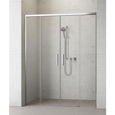 Radaway Idea DWD drzwi prysznicowe 160 cm wnękowe dwuskrzydłowe 387126-01-01