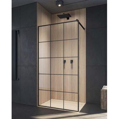Radaway Modo New Black II Factory Walk-In ścianka prysznicowa 100 cm szkło factory 389104-54-55