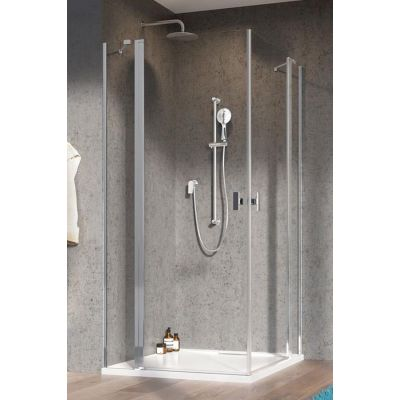 Radaway Nes KDD II drzwi prysznicowe 90 cm prawe chrom/szkło przezroczyste 10031090-01-01R