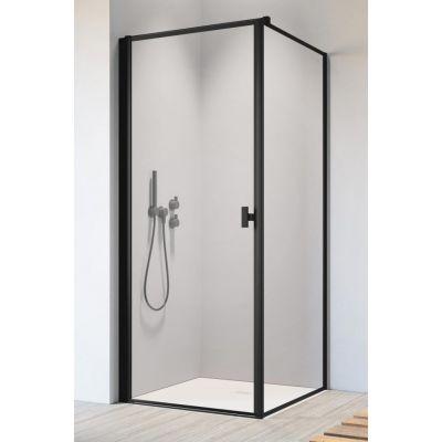 Radaway Nes Black KDJ I Frame drzwi prysznicowe 80 cm lewe szkło Frame 10022080-54-56L