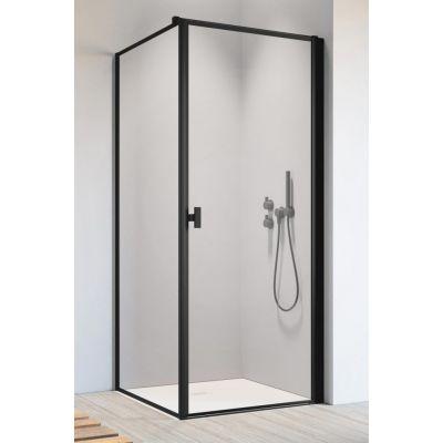 Radaway Nes Black S1 ścianka prysznicowa 100 cm boczna szkło Frame 10039100-54-56