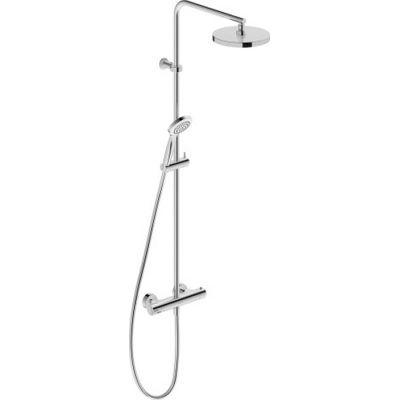 Duravit B.2 zestaw prysznicowy ścienny termostatyczny chrom B24280008010