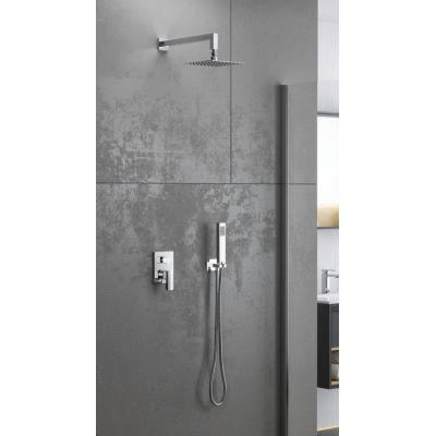 Excellent Pride zestaw prysznicowy podtynkowy chrom AREX.SET.4045CR