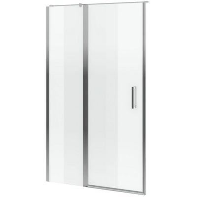 Excellent Mazo drzwi prysznicowe 90 cm ze ścianką stałą szkło przezroczyste KAEX.3025.1D.0538.LP/KAEX.3025.1S.9000.LP
