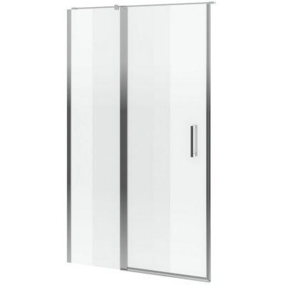 Excellent Mazo drzwi prysznicowe 100 cm ze ścianką stałą szkło przezroczyste KAEX.3025.1D.0650.LP/KAEX.3025.1S.1000.LP
