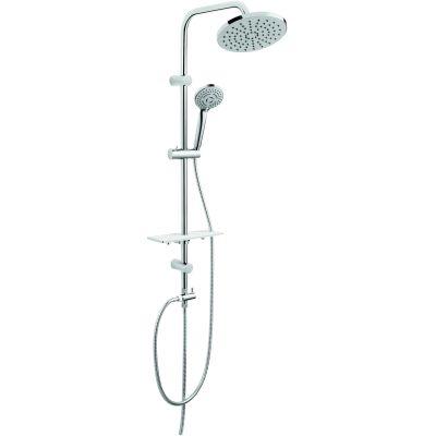 Ferro Rondo Lux zestaw prysznicowy z deszczownicą chrom NP23