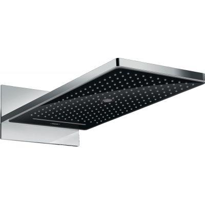 Hansgrohe Rainmaker Select deszczownica 58x26 cm prostokątna czarny/chrom 24001600