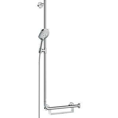 Hansgrohe Raindance Select S zestaw prysznicowy ścienny lewy chrom 26324000