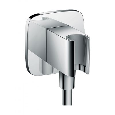 Hansgrohe Fixfit Porter przyłącze kątowe z uchwytem prysznicowym chrom 26485000
