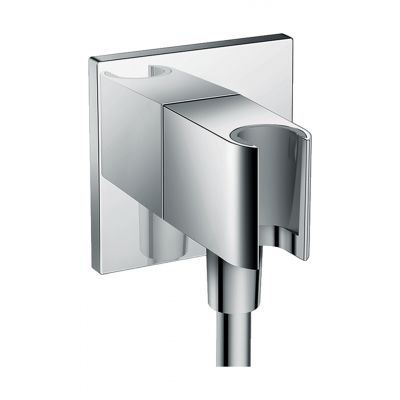 Hansgrohe Fixfit Porter przyłącze kątowe z uchwytem prysznicowym chrom 26486000