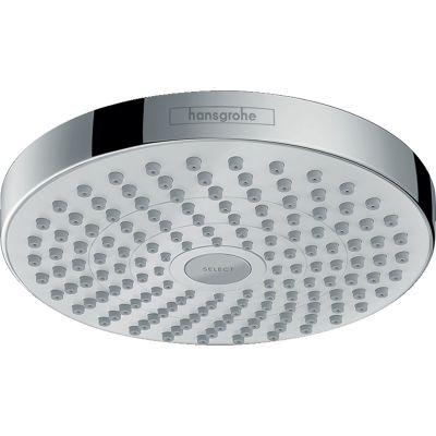 Hansgrohe Croma Select S deszczownica 18 cm okrągła biały/chrom 26522400