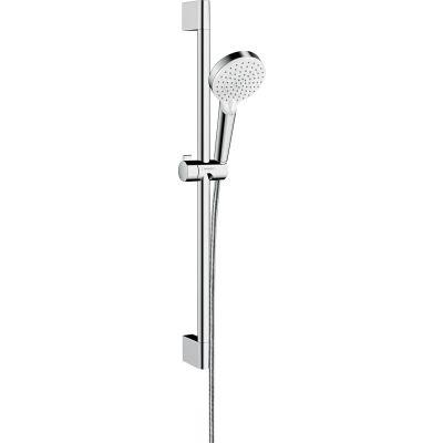 Hansgrohe Crometta EcoSmart zestaw prysznicowy ścienny biały/chrom 26534400