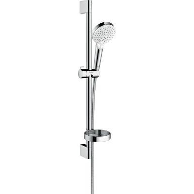Hansgrohe Crometta zestaw prysznicowy ścienny biały/chrom 26553400