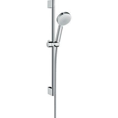 Hansgrohe Crometta 100 zestaw prysznicowy ścienny biały/chrom 26651400