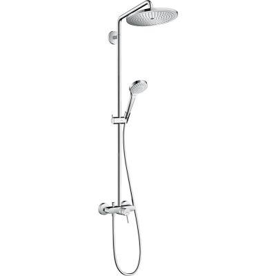 Hansgrohe Croma Select S Showerpipe zestaw prysznicowy ścienny chrom 26791000
