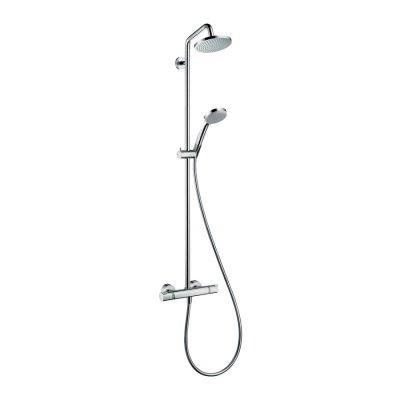 Hansgrohe Croma 160  komplet prysznicowy z ramieniem prysznicowym 270 mm chrom 27135000