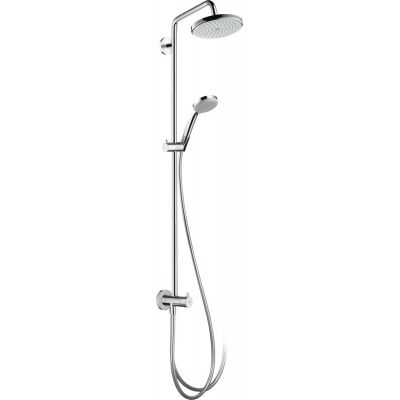 Hansgrohe Croma 220 Reno Showerpipe zestaw prysznicowy ścienny chrom 27224000