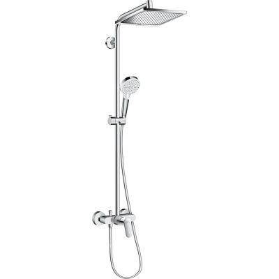 Hansgrohe Crometta E Showerpipe zestaw prysznicowy ścienny chrom 27284000