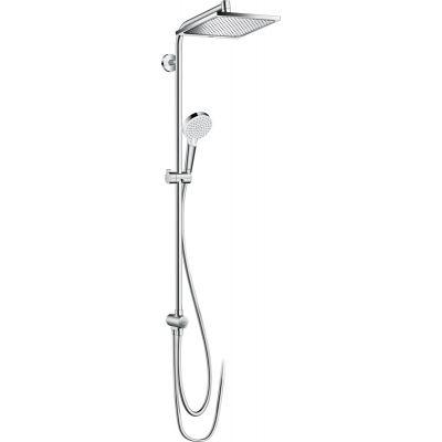 Hansgrohe Crometta E Showerpipe EcoSmart zestaw prysznicowy ścienny chrom 27289000