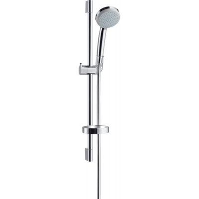 Hansgrohe Croma 100 EcoSmart zestaw prysznicowy ścienny chrom 27776000