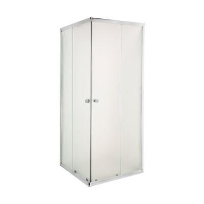Invena Parla kabina prysznicowa 80x80 cm kwadratowa szkło mrożone AK-48-181