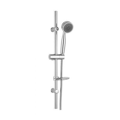 Invena Siros zestaw prysznicowy chrom/szary AU-80-001