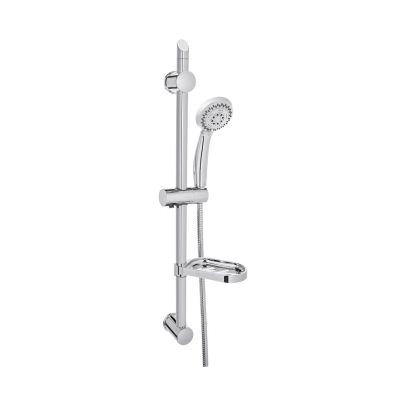 Invena Esla zestaw prysznicowy chrom/biały AU-94-001