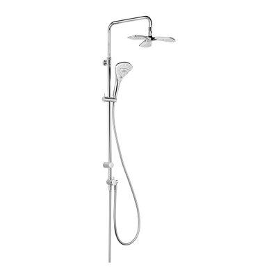 Kludi Dual Shower System Fizz zestaw prysznicowy chrom 6709305-00