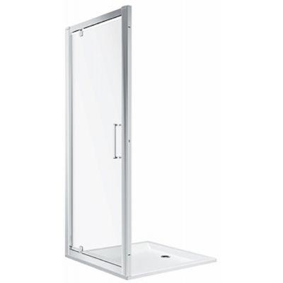 Koło Geo drzwi prysznicowe 80 cm szkło przezroczyste 560.115.00.3