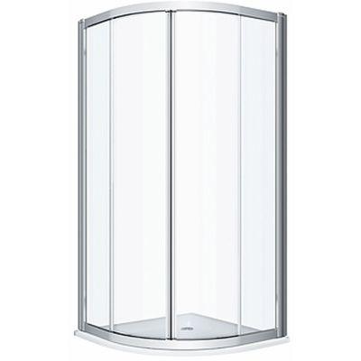 Koło Geo kabina prysznicowa 90x90 cm półokrągła szkło przezroczyste 560.121.00.3