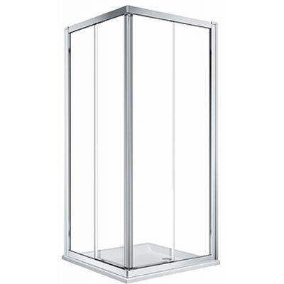 Koło Geo kabina prysznicowa 90 cm kwadratowa szkło przezroczyste 560.122.00.3