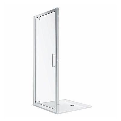 Koło Geo drzwi prysznicowe 90 cm szkło przezroczyste 560.125.00.3