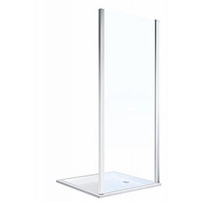 Koło Geo ścianka prysznicowa 90 cm boczna szkło przezroczyste 560.127.00.3